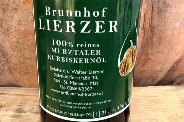 Mürztaler Kürbiskernöl, Foto: P. Kaiser