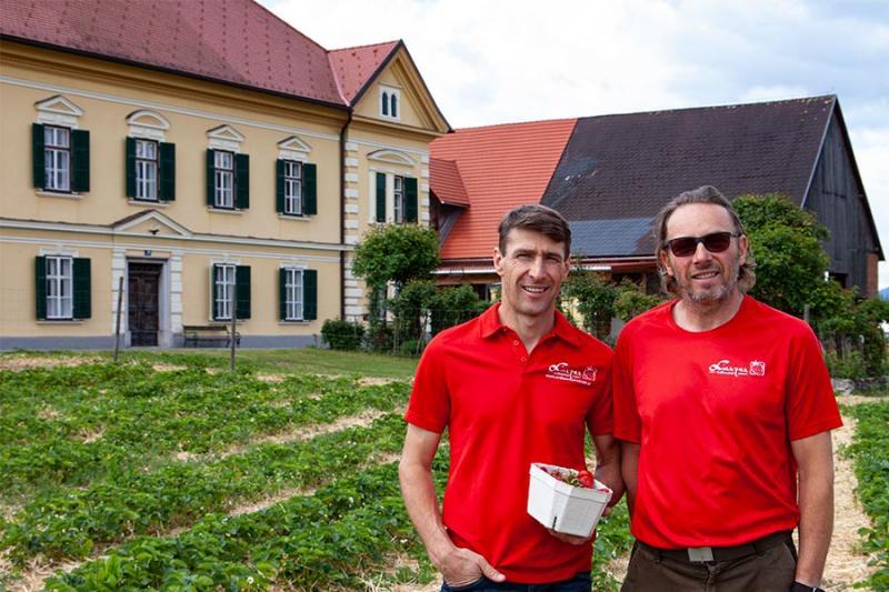 Reinhard und Walter, Foto: P. Kaiser