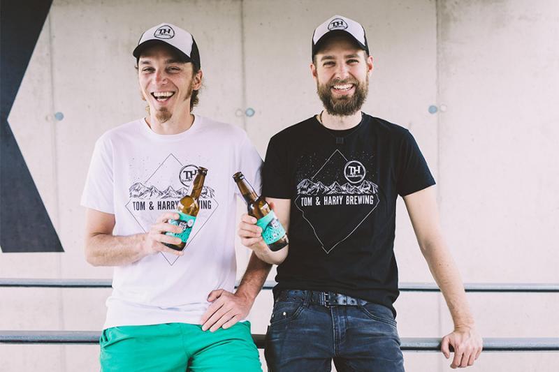 Ein unschlagbares Duo - die Bierproduzenten aus der Hochsteiermark. Foto: nixxipixx