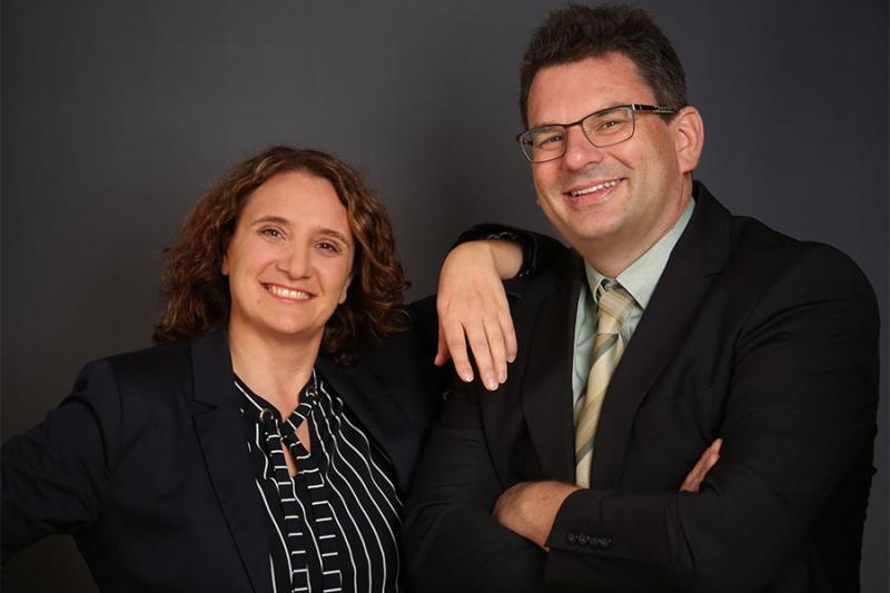 Das dynamische Duo, Foto: Furgler